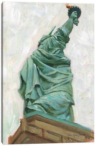 Liberty Belle Canvas Art Print
