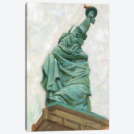Liberty Belle Canvas Print #JHS31} by John Haskins Canvas Print