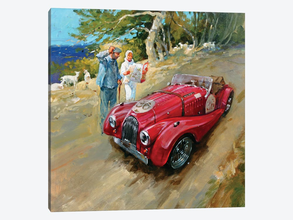 Lost In France by John Haskins 1-piece Canvas Wall Art