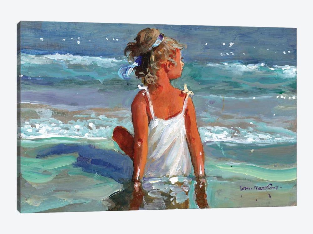 Mermaid by John Haskins 1-piece Canvas Artwork