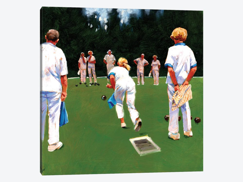 Mixed Bowls by John Haskins 1-piece Canvas Art Print