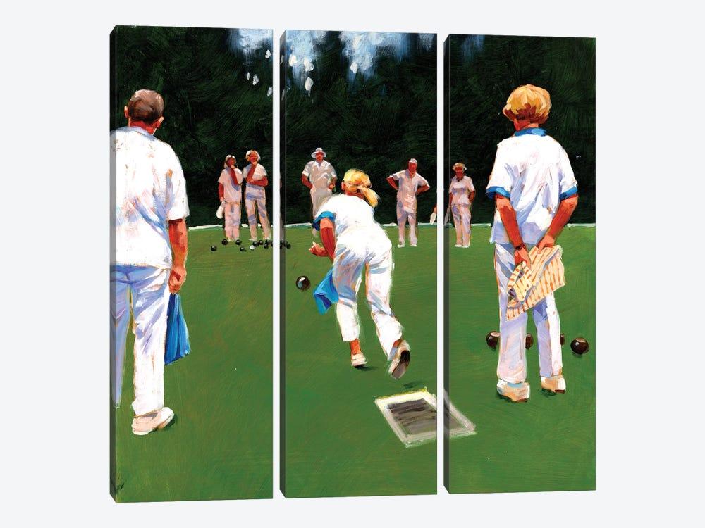 Mixed Bowls by John Haskins 3-piece Canvas Print