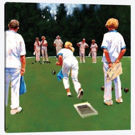 Mixed Bowls Canvas Print #JHS37} by John Haskins Canvas Art