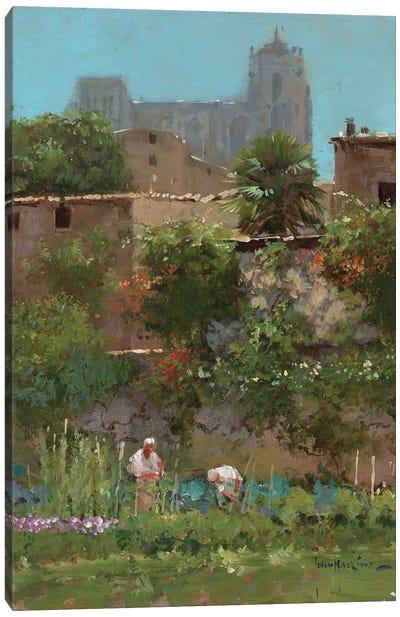 Monastery Gardens Canvas Art Print
