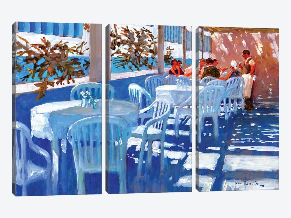 Apres Dejeuner by John Haskins 3-piece Canvas Print