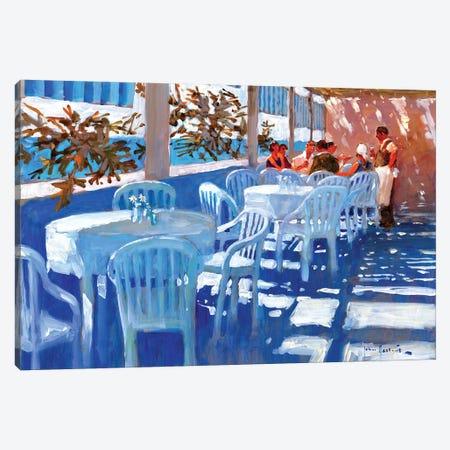 Apres Dejeuner Canvas Print #JHS3} by John Haskins Canvas Print