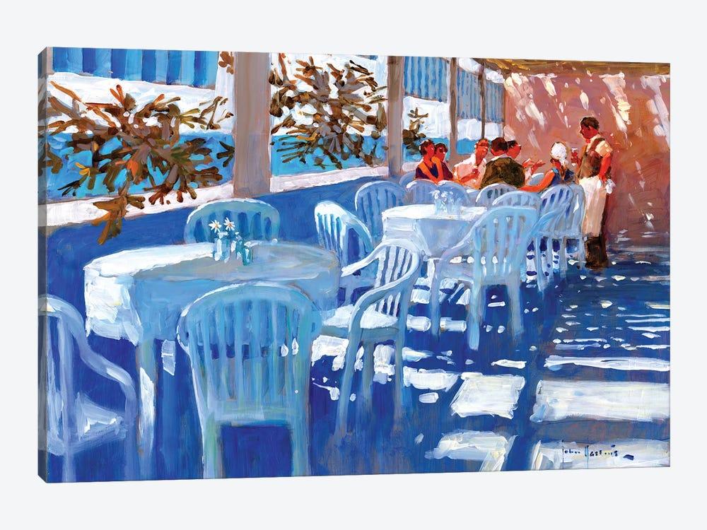 Apres Dejeuner by John Haskins 1-piece Canvas Print