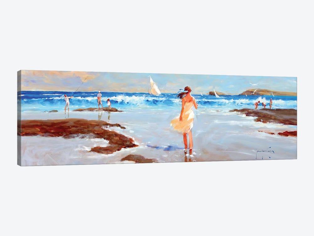 Ocean Ebb by John Haskins 1-piece Canvas Art