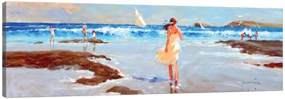 Ocean Ebb Canvas Art Print