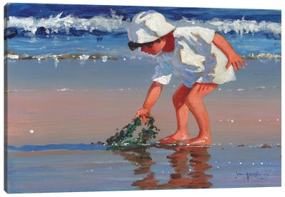 Serious About Seaweed Canvas Art Print