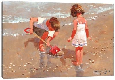 Shellseekers Canvas Art Print