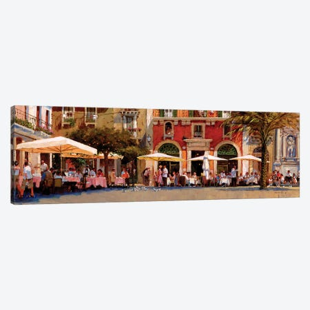 The Meeting Place Canvas Print #JHS61} by John Haskins Canvas Wall Art