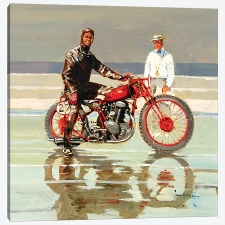 The Sandracer Canvas Print #JHS64} by John Haskins Canvas Art Print