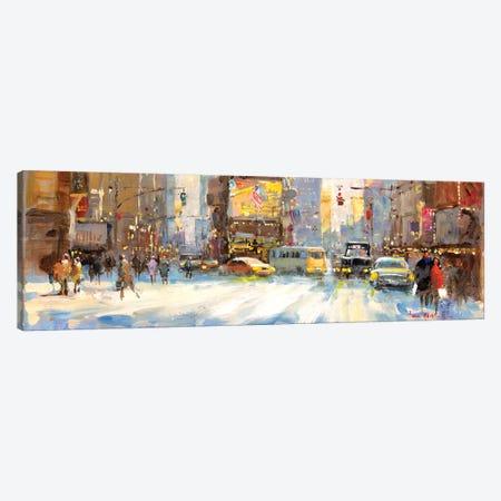 Times Square I Canvas Print #JHS67} by John Haskins Art Print