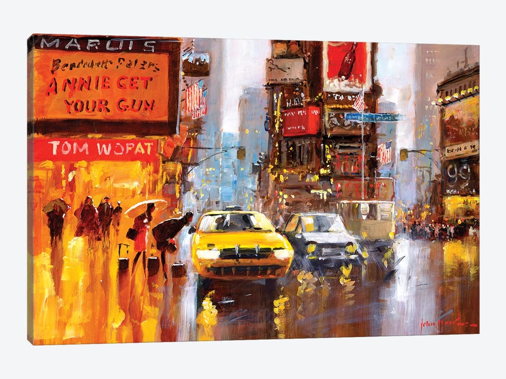 Times Square II by John Haskins 1-piece Art Print