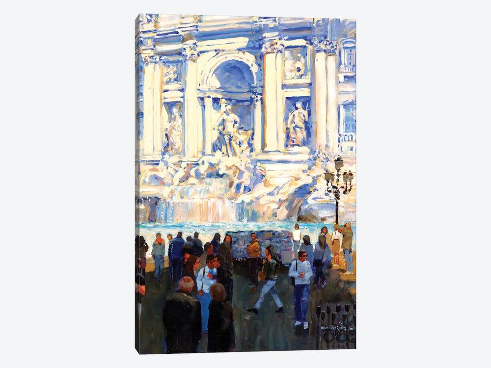 Trevi Fountain by John Haskins 1-piece Art Print