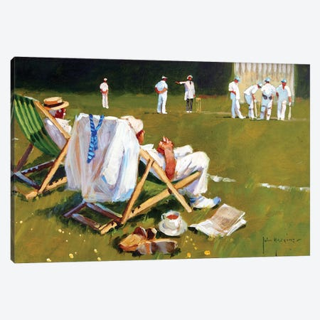 Umpires Decision Canvas Print #JHS72} by John Haskins Canvas Print