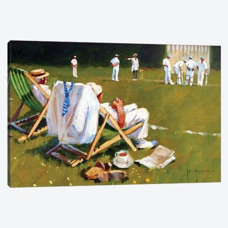Umpires Decision Canvas Print #JHS72} by John Haskins Canvas Print