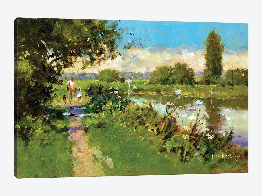 Afternoon Walk by John Haskins 1-piece Art Print