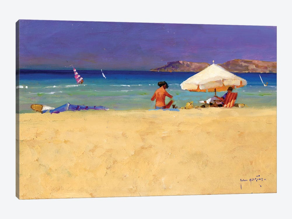 Eighty Degrees In The Shade by John Haskins 1-piece Art Print