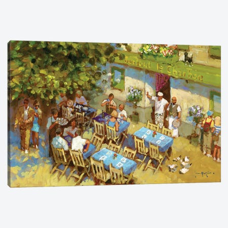 Surtout Le Charbon Canvas Print #JHS85} by John Haskins Canvas Art Print