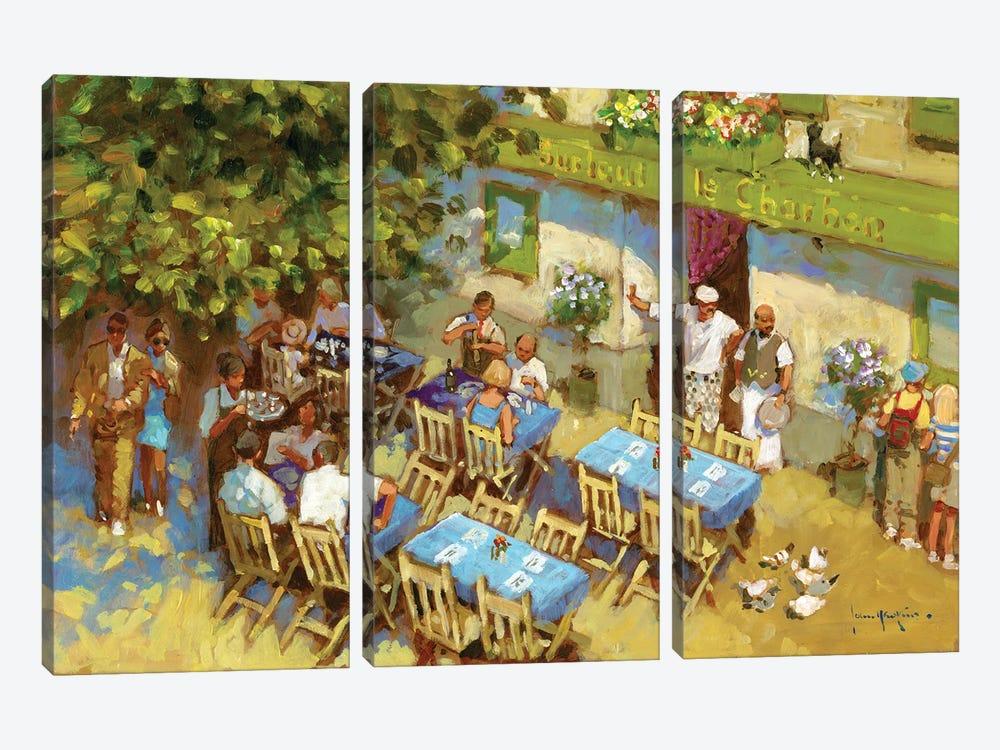 Surtout Le Charbon by John Haskins 3-piece Canvas Artwork