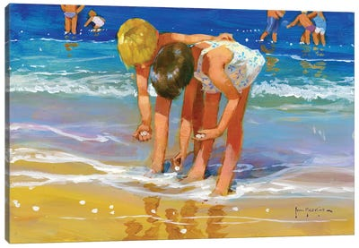 The Pearl Harvest Canvas Art Print