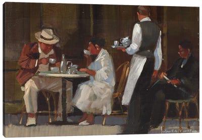 Breakfast On Jermyn Street Canvas Art Print