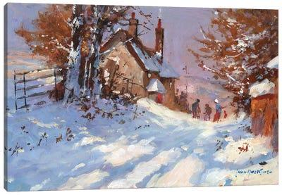 Winter Sports Team Canvas Art Print