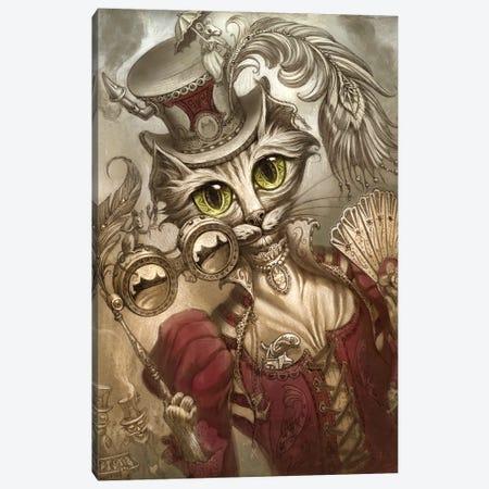 Lady Steam Canvas Print #JHY18} by Jeff Haynie Canvas Print