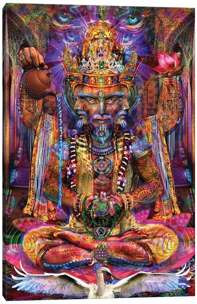 Brahma Canvas Art Print