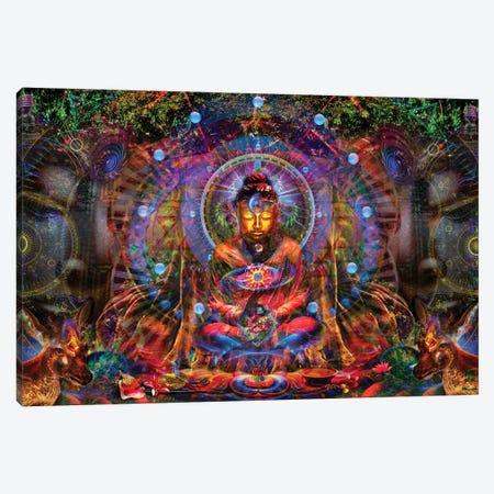 Buddha Canvas Print #JIE12} by Jumbie Canvas Wall Art
