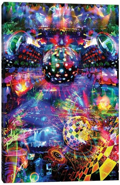 Disco Canvas Art Print