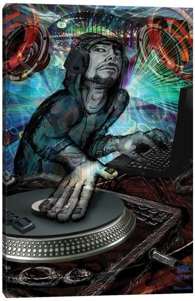 DJ Dude Canvas Art Print
