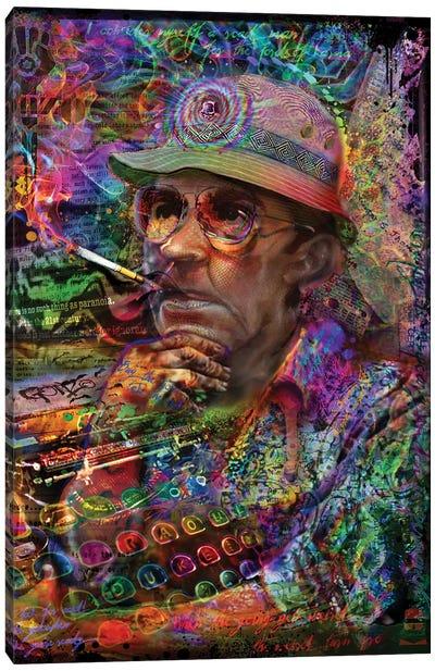 Dr. Hunter S Thompson Canvas Art Print