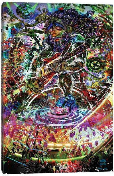 Electric Jam Canvas Art Print