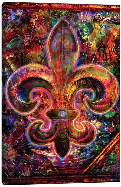 Fleur De Lis Canvas Art Print
