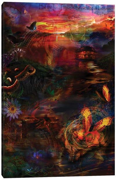 Amazon Travels Canvas Art Print