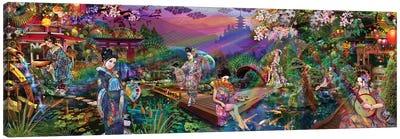 Geisha Garden Canvas Art Print