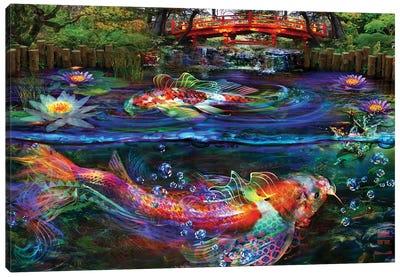 Koi Fish Canvas Art Print