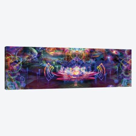 Lotus Plane Canvas Print #JIE45} by Jumbie Canvas Art