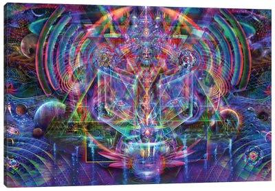 Master Lotus Canvas Art Print