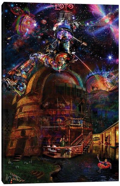 Observatory Canvas Art Print