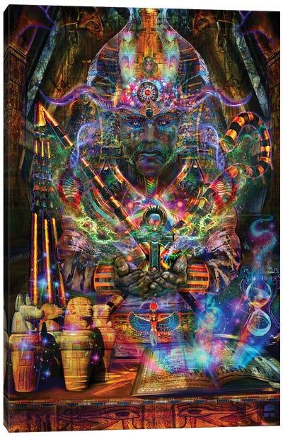 Osiris Canvas Art Print