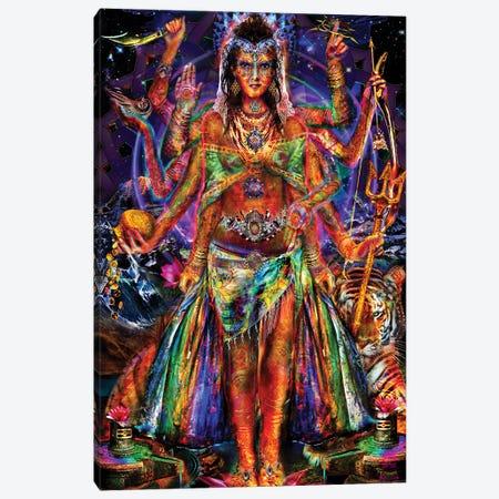 Pavarti Canvas Print #JIE56} by Jumbie Canvas Print