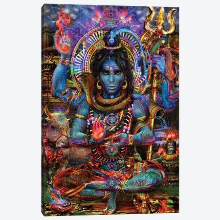 Shiva Canvas Print #JIE62} by Jumbie Art Print