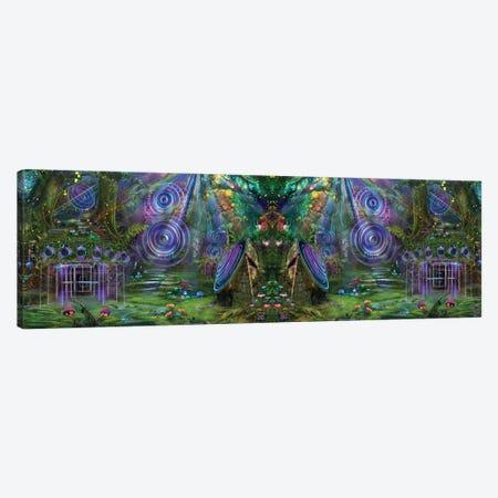 Sound Garden Butterfly Canvas Print #JIE63} by Jumbie Art Print