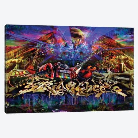 String Cheese Red Rocks Canvas Print #JIE71} by Jumbie Canvas Art