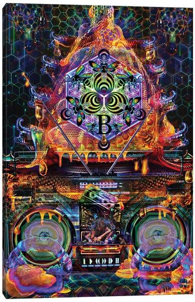 Bass Hive Canvas Art Print