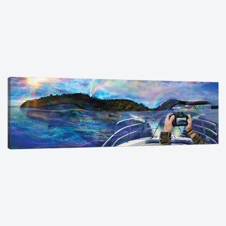 Whale Named Gaia Canvas Print #JIE82} by Jumbie Canvas Art Print